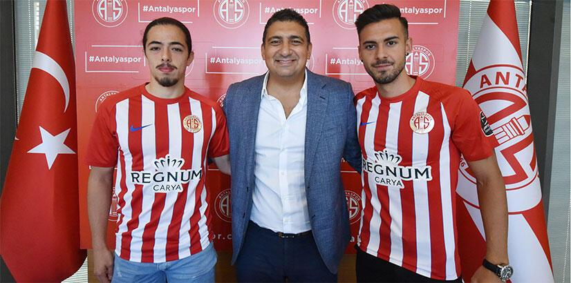 Antalyaspor, Harun ve Ufuk ile sözleşme imzaladı