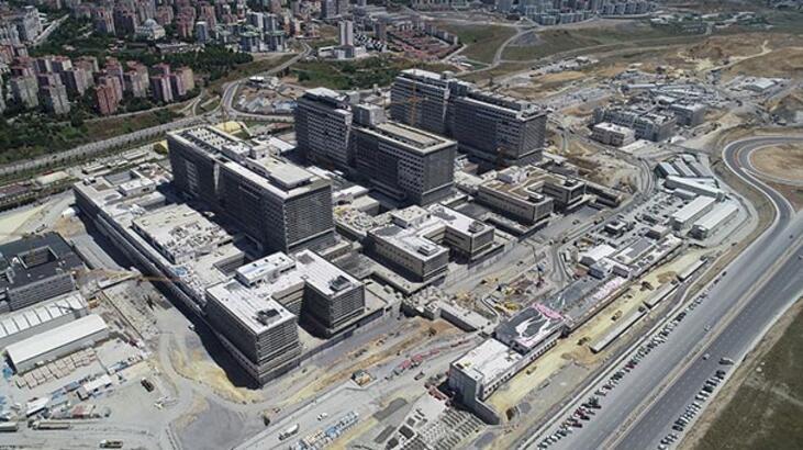Başakşehir Şehir Hastanesi'nin yüzde 60'ı tamamlandı! 10 bin kişiye istihdam sağlayacak