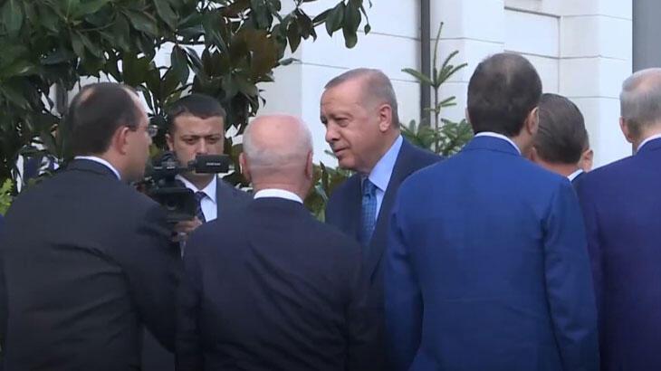 Cumhurbaşkanı Erdoğan, AK Parti milletvekilleriyle buluştu