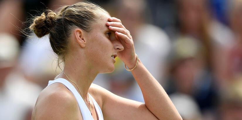 Dünya 3 numarası Pliskova, Wimbledon'dan elendi