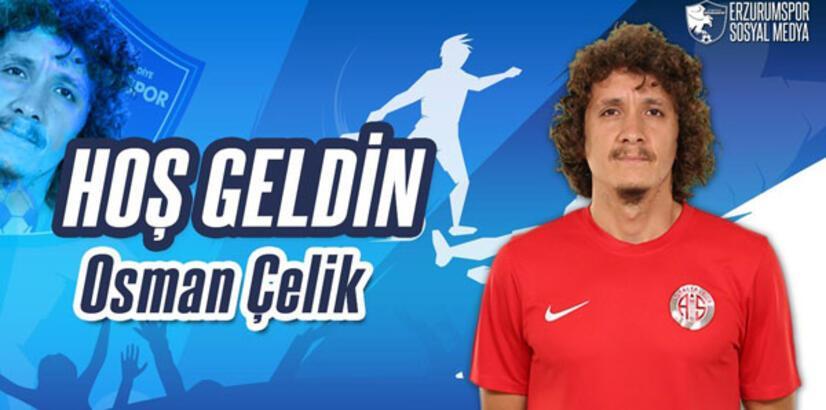 Osman Çelik, Erzurumspor'da