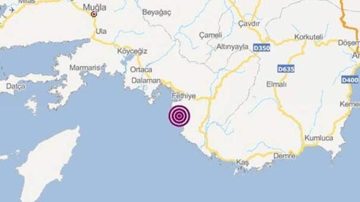 Son dakika | Fethiye'de korkutan deprem