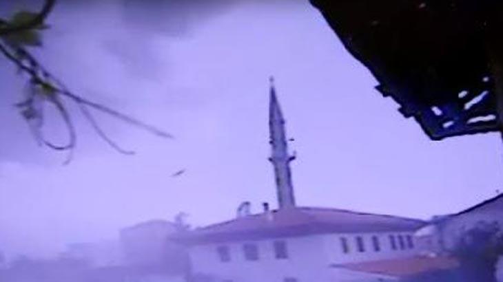Çorum bu olayı konuşuyor! Sanki caminin minaresini, biri almış...