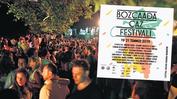 'Bozcaada'nın doğası festivali besliyor'