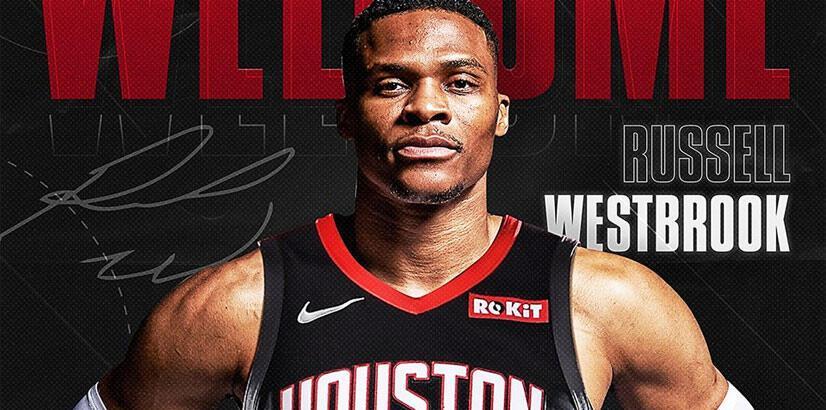 Houston Rockets Westbrook'u kadrosuna kattı