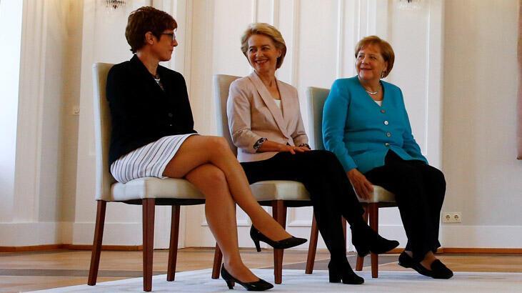 Almanya'da Karrenbauer resmen Savunma Bakanı