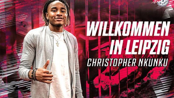 Leipzig'de transfer: Christopher Nkunku