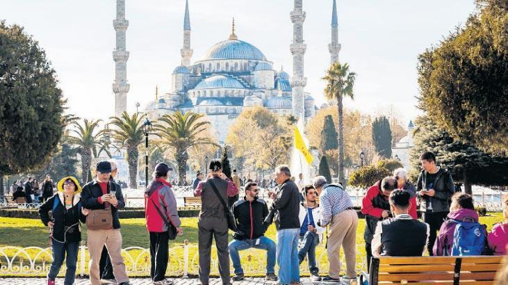 Turistlerin gözdesi