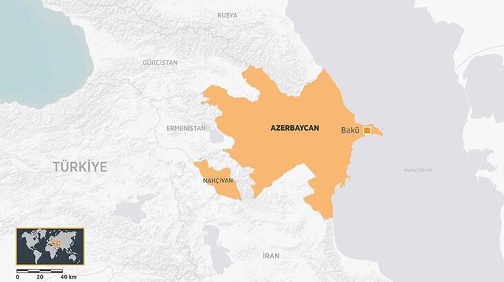 Son dakika... Azerbaycan'da savaş uçağı düştü