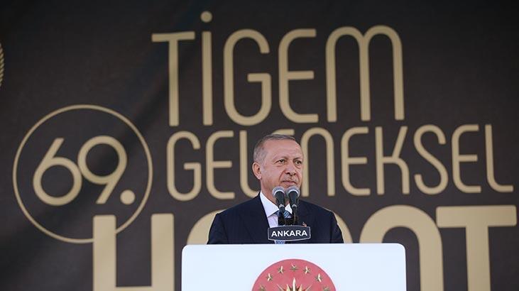 Cumhurbaşkanı Erdoğan'dan çiftçilere müjde: Kurban Bayramı'ndan önce ödeyeceğiz