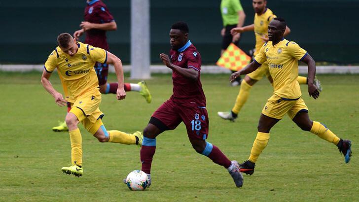 Trabzonspor - Hellas Verona: 1-1