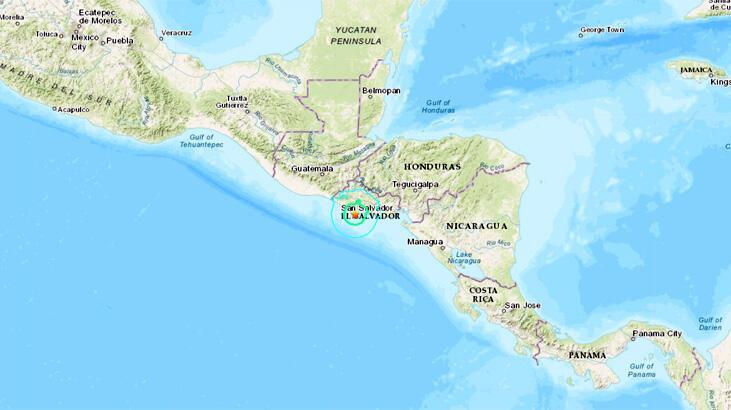 Son dakika... El Salvador'da deprem
