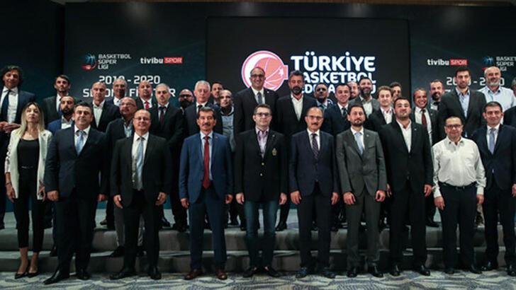 Basketbol Süper Ligi'nde fikstür çekildi