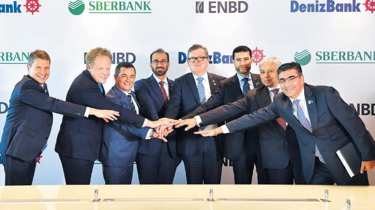ENBD DenizBank'ı aldı, 400 milyon $ 'kaynak' aktaracak