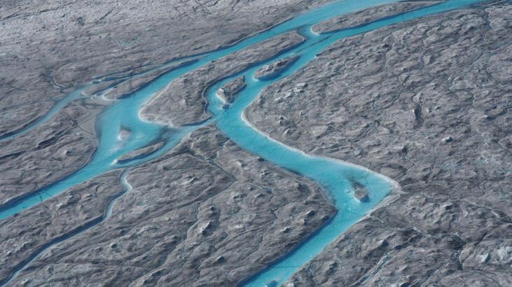 Kuzey Yarımküre'de ısı dalgaları buzul erimesini rekor seviyede hızlandırdı