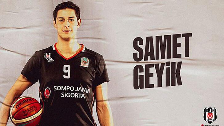 Beşiktaş Sompo Sigorta, Samet Geyik'le sözleşme yeniledi