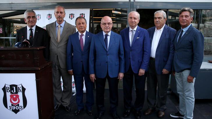 Beşiktaş'ta divan başkanlık seçimi başladı