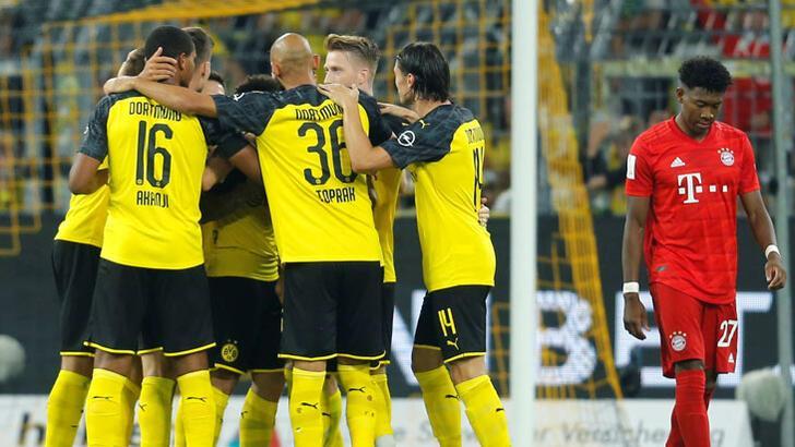 Borussia Dortmund Süper Kupa'da Bayern Münih'i devirdi!