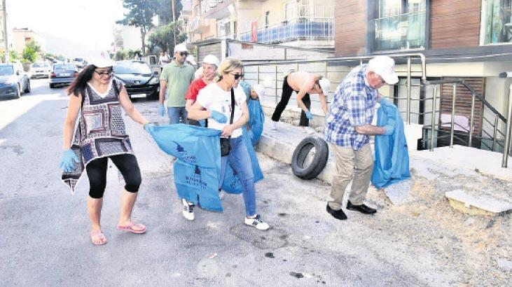 Temiz İzmir hareketi başladı