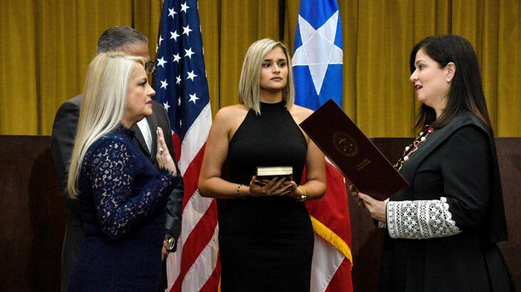 Porto Riko'nun yeni valisi Adalet Bakanı Vazquez oldu