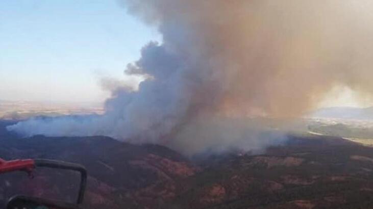 Son dakika... Kütahya'daki orman yangını kontrol altına alındı!