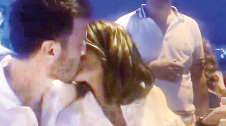 Rojda Demirer'e 'iyi ki doğdun' öpücüğü