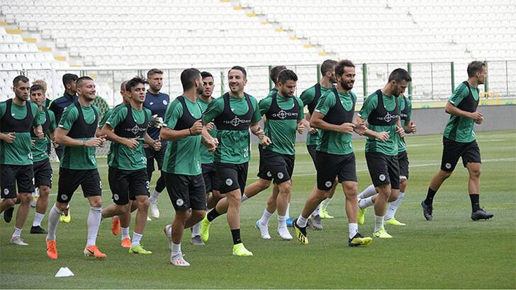 Konyaspor, Ankaragücü maçının provasını yaptı