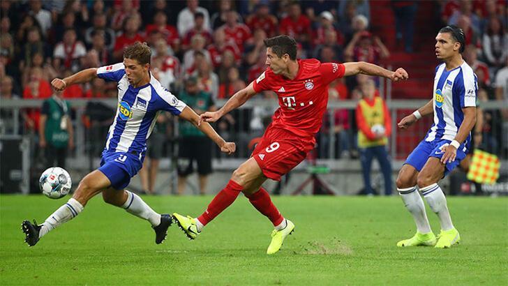 Bayern Münih-Hertha Berlin: 2-2