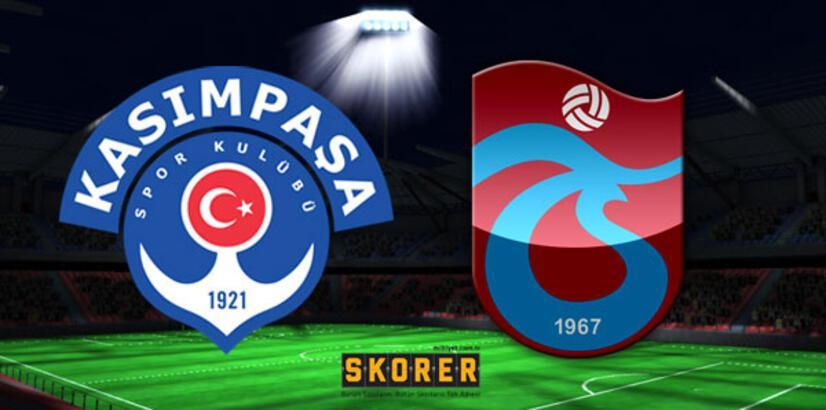 Kasımpaşa-Trabzonspor maçı ne zaman saat kaçta hangi kanalda?