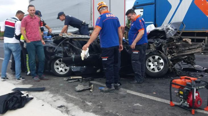 Son dakika: Korkunç kaza! Ölü ve yaralılar var...