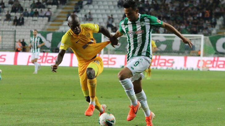 Konyaspor - MKE Ankaragücü: 0-0