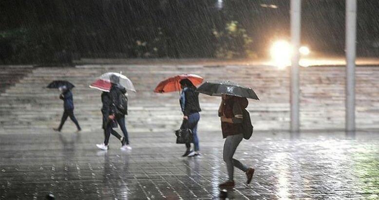 Meteoroloji'den kuvvetli yağış uyarısı! Hava durumu bugün nasıl olacak?