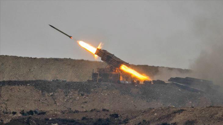 Bakanlık duyurdu! Tel Rıfat'taki terör hedefleri yerle bir edildi