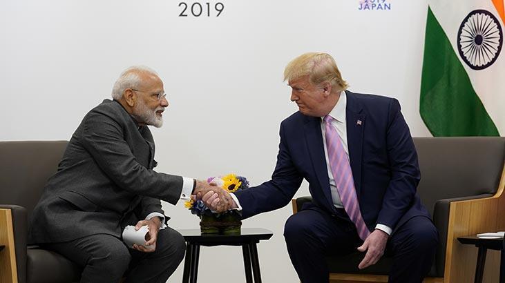 Trump, Modi ile Keşmir'i görüştü