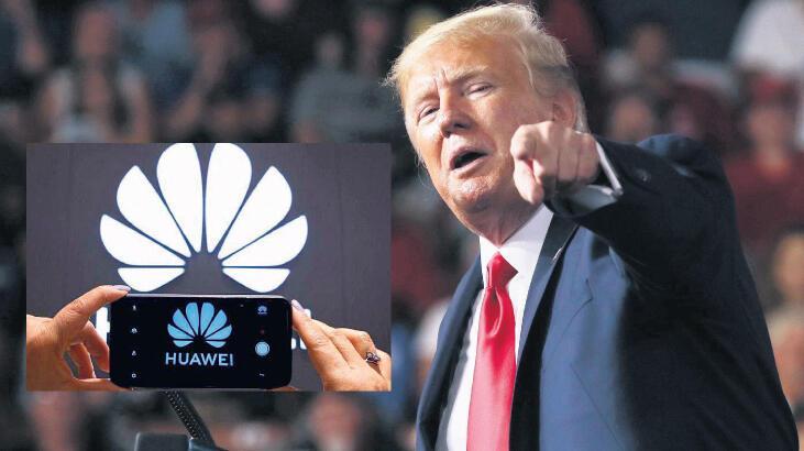 Trump: Çinli Huawei ile  iş yapmak istemiyorum