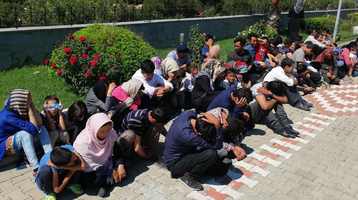 Çanakkale'de 274 düzensiz göçmen yakalandı