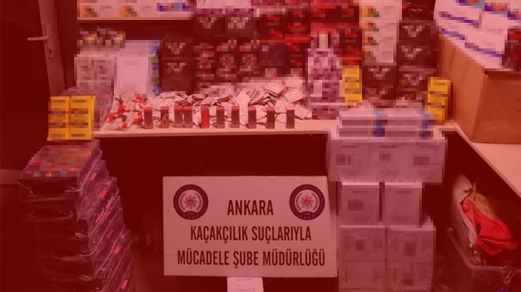 Başkentte kaçakçılık operasyonu: Çok sayıda cinsel gücü artırıcı ürün ele geçirildi