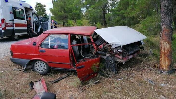 Çanakkale'de feci kaza! Anne kız ağır yaralı