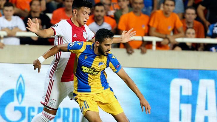 APOEL-Ajax: 0-0