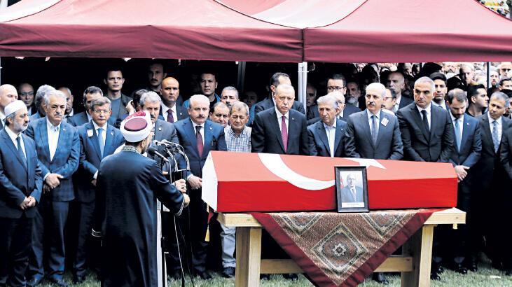 Haluk Hoca'yı devlet uğurladı