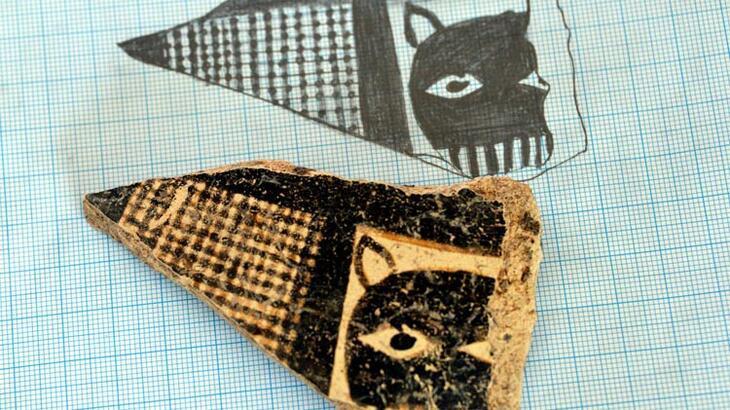8 bin yıllık leopar maskesi figürü bulundu!