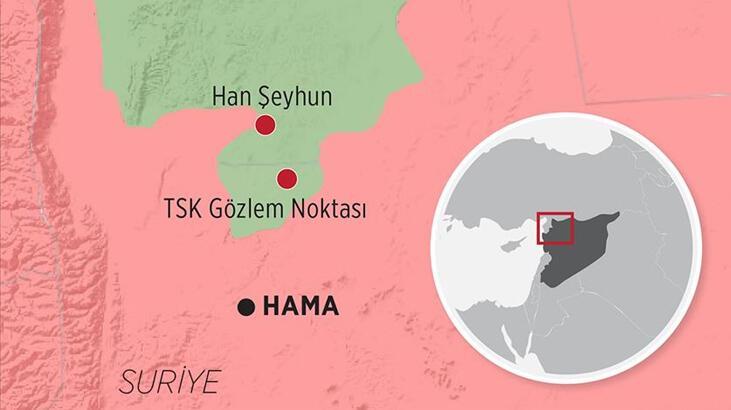 Suriye'den son dakika haberi! Esed, Rusya'nın desteğiyle Han Şeyhun'u ele geçirdi