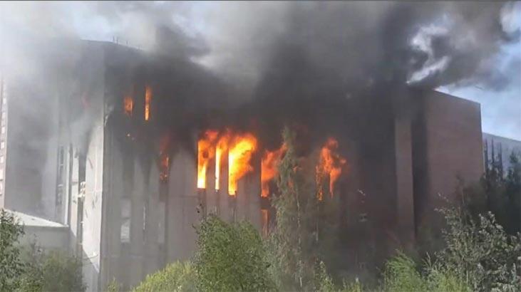 Alarm seviyesi beşe çıktı! Rusya'da korkutan yangın