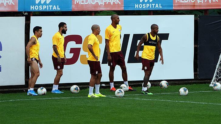 Galatasaray'da Belhanda idmana çıkmadı