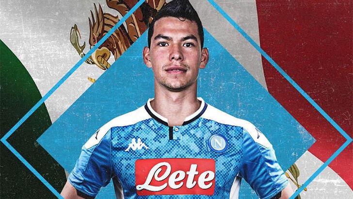 Lozano resmen Napoli'de
