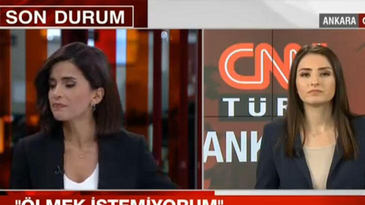 Son dakika | Türkiye'yi ayağa kaldıran haberi sunarken gözyaşlarını tutamadı