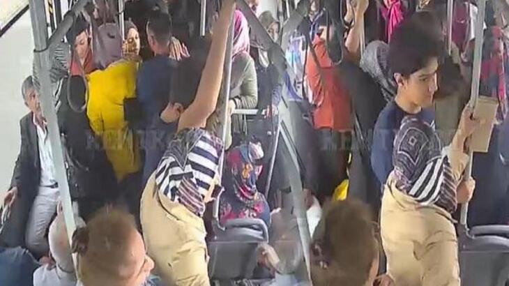 Kalp spazmı geçiren kadını otobüsle hastaneye götürdüler!