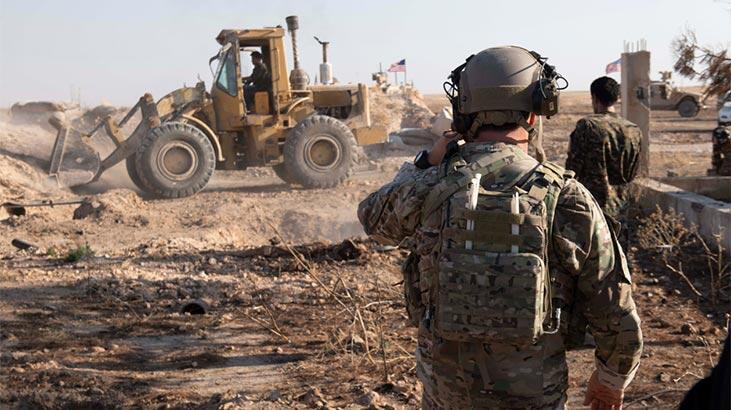 CENTCOM'a göre terör örgütü YPG/PKK siper yıkıyor