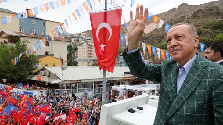 Cumhurbaşkanı Erdoğan'dan net mesaj: Haklarımızı yedirtmeyiz