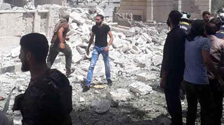 Son dakika| İdlib'de bombalı saldırı! Ölü ve yaralılar var